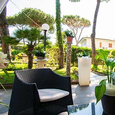 Giardino - Manuela Hotel Cinquale